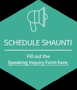 Schedule Shaunti