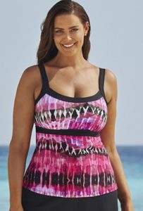 Curvy empire tankini top copy