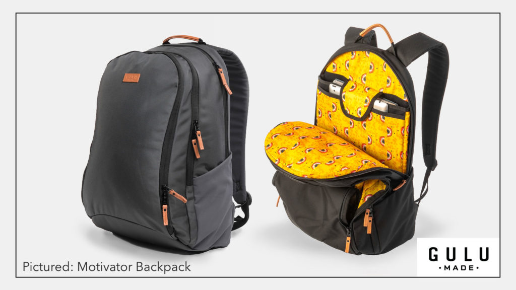 GULU Made backpack - The Motivator - Shaunti.com blog